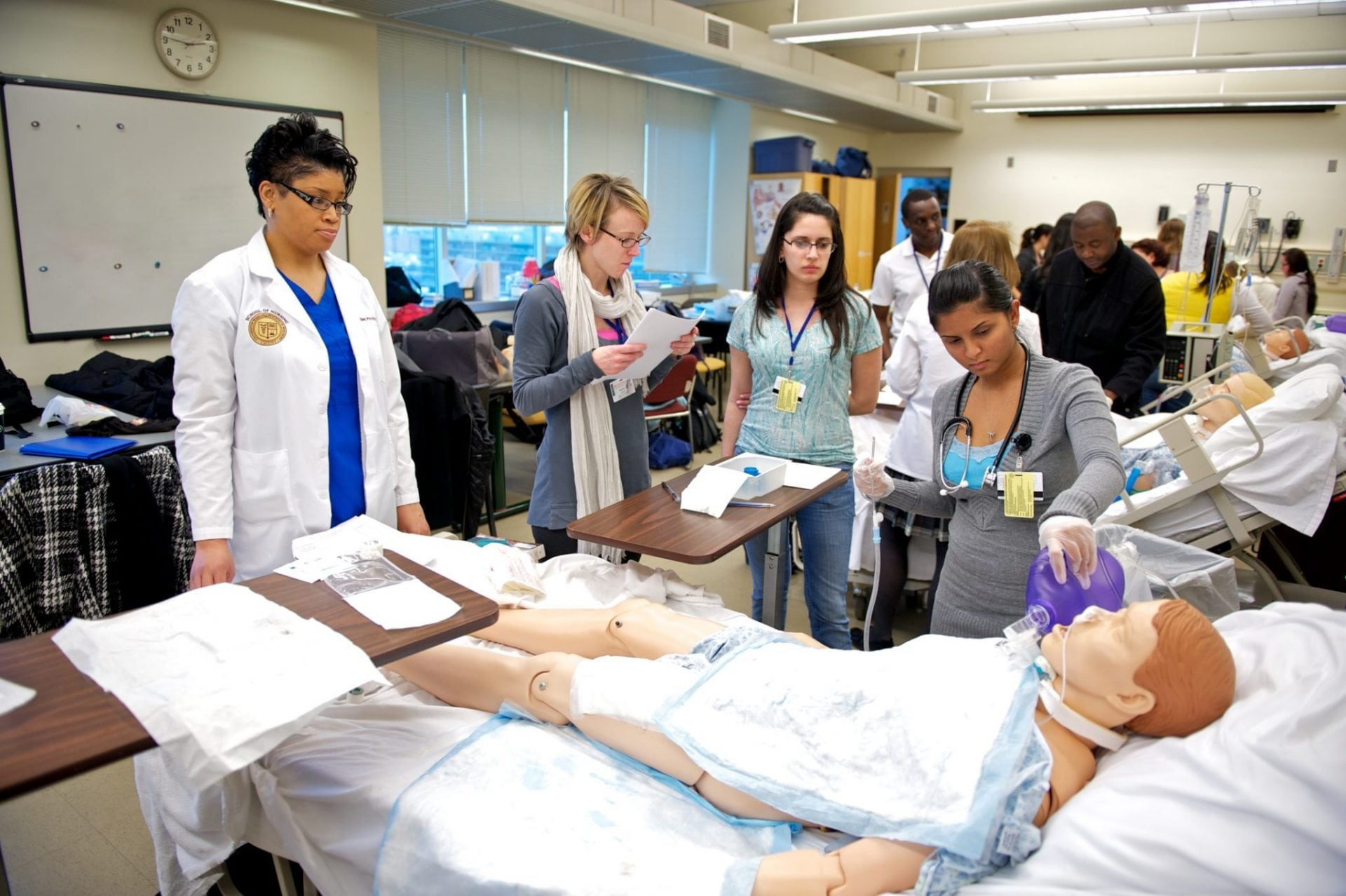 Students from Thomas Edison State College on the New Careers in Nursing national scholarship program. (Photo: Thomas Edison State College)