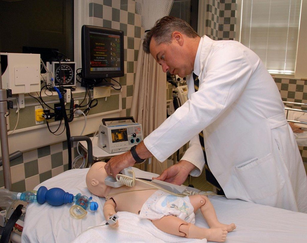 Author, Dr. John J Schafer, Professor, Department of Anesthesia and Perioperative Medicine. MUSC. Image Credit: HealthCare Simulation of South Carolina.