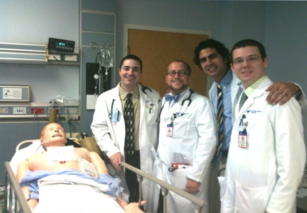 Yale Medical Residents and Interns. Image Credit: Bonnie Haupt.