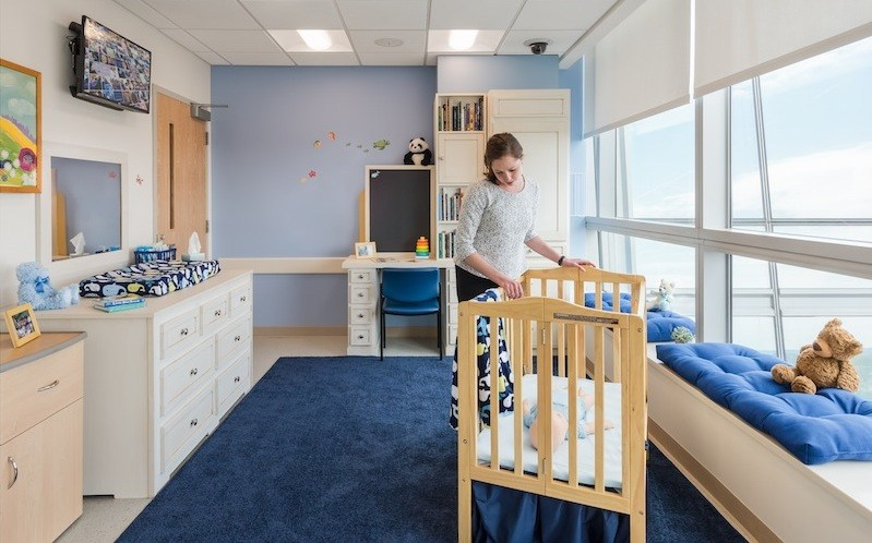 simulation child's nursery