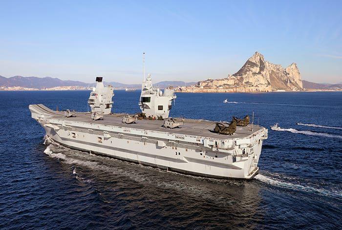 Royal Navy's HMS Queen Elizabeth