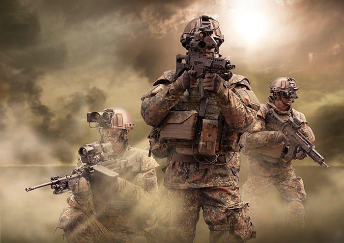 German Bundeswehr Infantrymen