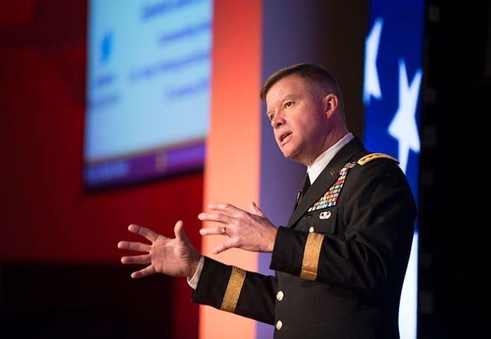 Gen. David Perkins, head of the Army Training and Doctrine Command