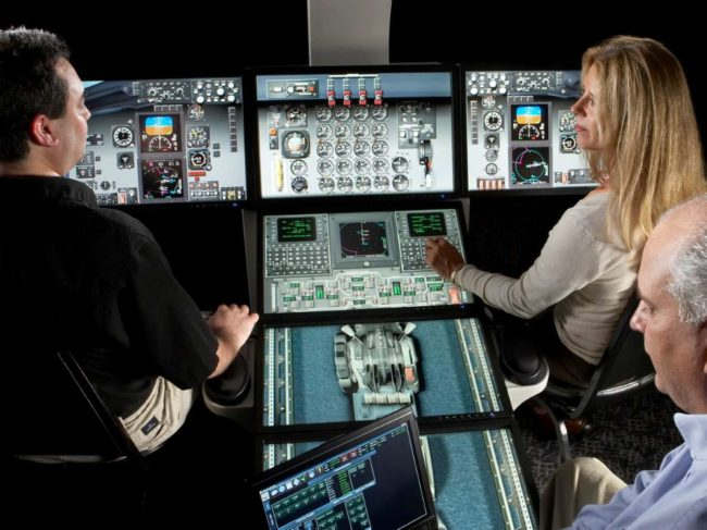Training device technology is increasing the tasks that can be offloaded from full flight devices to fixed training devices.