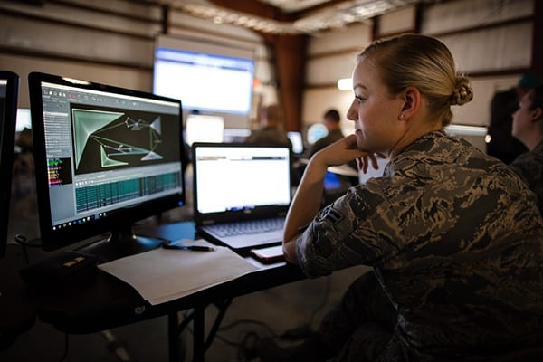yber Shield 18 engaged more than 800 cyber warriors of the US Army National Guard, Air National Guard and Army Reserve, as well as civilain law enforcement.