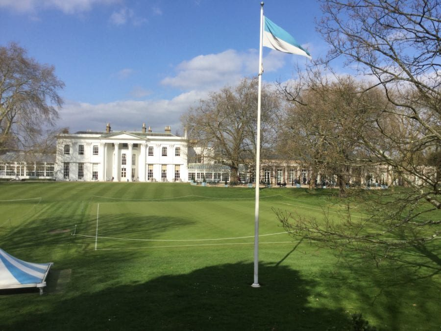 The venue for the MFTC was the private Hurlingham Club.