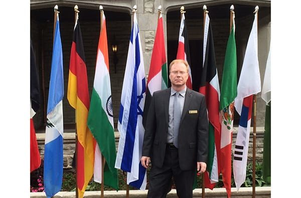 Dr. Kurtis Simpson, Director of the DRDC. NATO Modelling