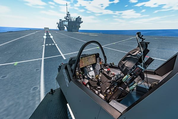 Simulator test pilots reported a form of déjà vu when going to the ship for the first time.