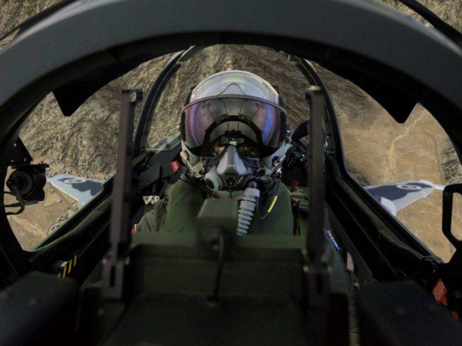CAE Medallion MR eSeries Hawk sim cockpit view