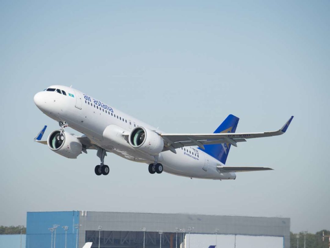 Air Astana, has taken delivery of eight Airbus A320-271N NEO aircraft.