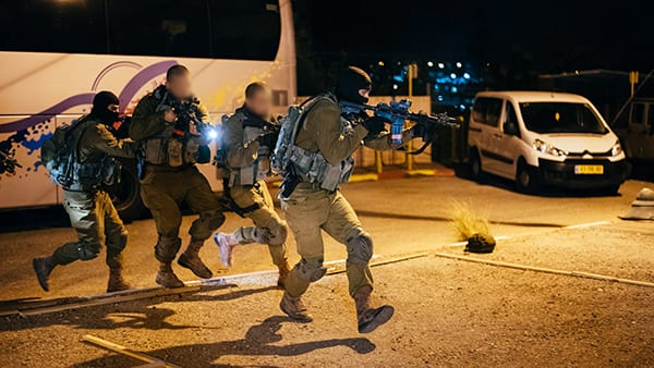 Counter-Terror Unit trains at Lotar for a hostage crisis. Image credit: Eden Briand, IDF.