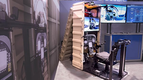 At I/ITSEC, L3Harris Technologies plans to introduce an F16 AR/VR pilot training device developed on the Blue Boxer Extended Reality foundation and featuring its Adaptive Learning Engine capability.