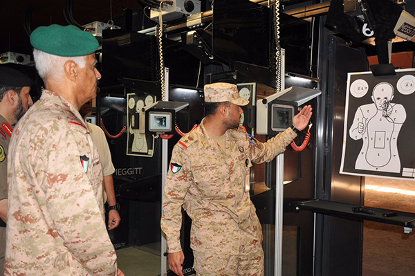 Meggitt Training Systems' ranges at the Ali Al Subah Military College.
