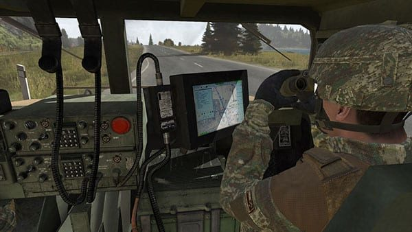 New Zealand vehicle simulation in BISim VBS3.