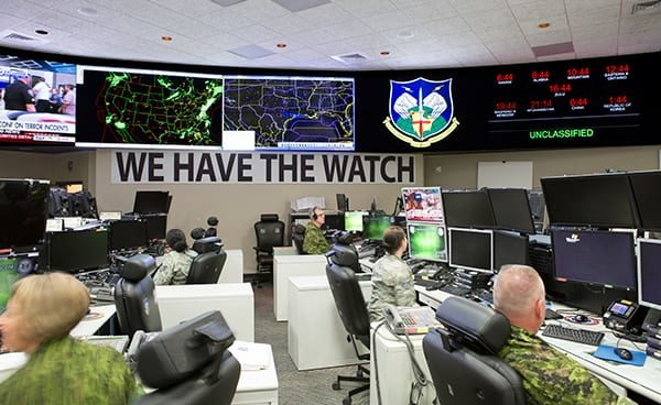 NORAD Operations Center.