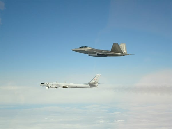 In May, NORAD F22s and an E3 AWACS intercepted four Tu95 bombers and two Su35 fighters entering the Alaska Air Defense Identification Zone.