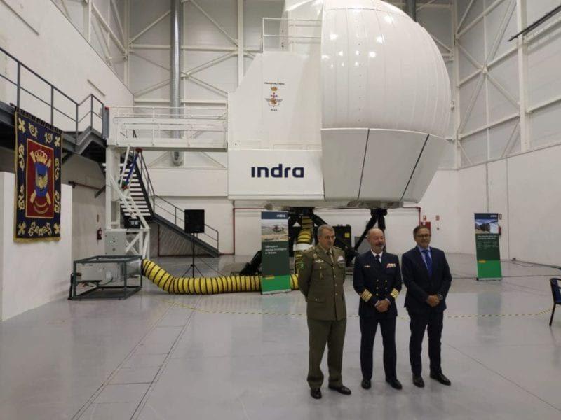 Sim NH90 Indra I Mataix Spanish Army