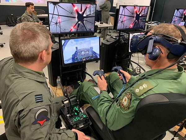 The UK Royal Air Force is taking part in the USAF Pilot Training Next (PTN) program.