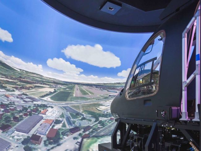 The Bell customer centre in Valencia, Spain features a TRU-built, EASA certified Level D 429 full flight simulator.