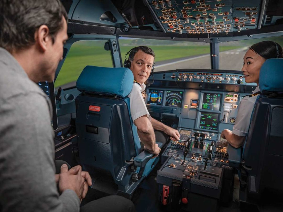 As an approved supplier to Airbus, TRU provides world-class flight simulation devices (including the above A320 FFS) to Airbus' customers, training centers and affiliates worldwide.