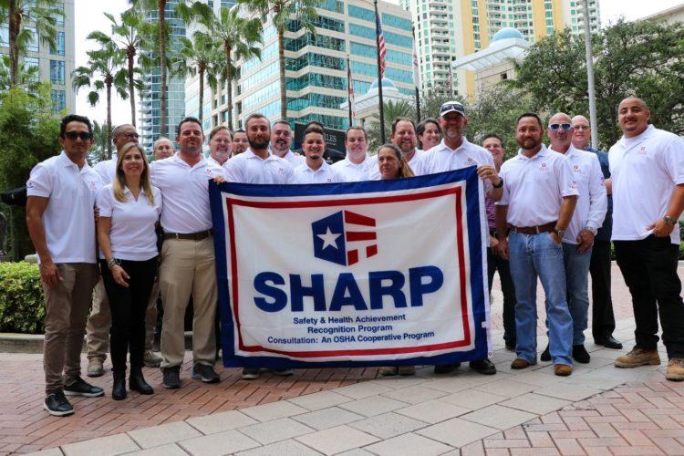 Stiles construction earns sharp award for safety training e1574286442900