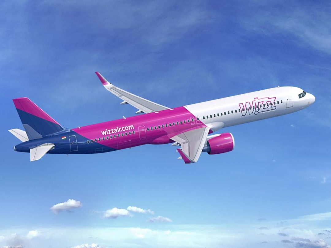 Wizz Air operates one of the youngest aircraft fleets in the world consisting of Airbus A320 and A321s.