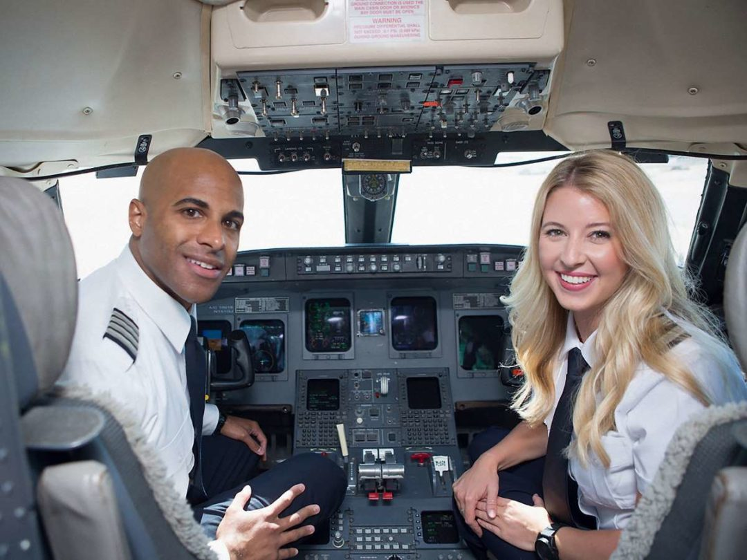 GoJet Airlines has plans to hire about 500 new pilots this year and expand its fleet by 32%.