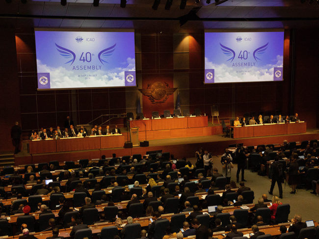 Every three years, ICAO invites its nearly 200 Member States and partner organizations to Montréal.