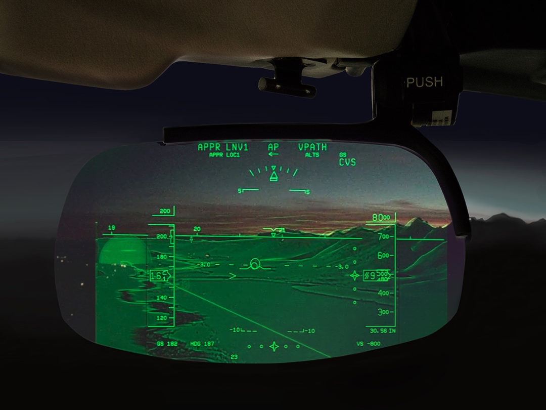 The simulation-enhanced reality of combined vision HUDs creates a new training challenge.