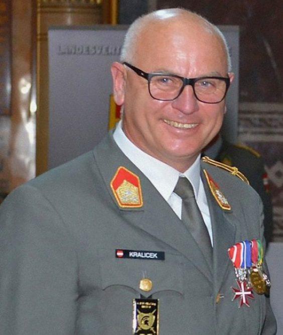 Colonel Wolfgang Kralicek