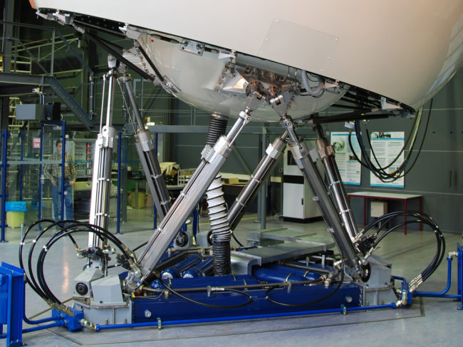 The SIMONA Research Simulator was specially built for TU Delft.