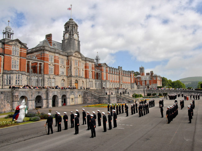 Britannia Royal Naval College Dartmouth.