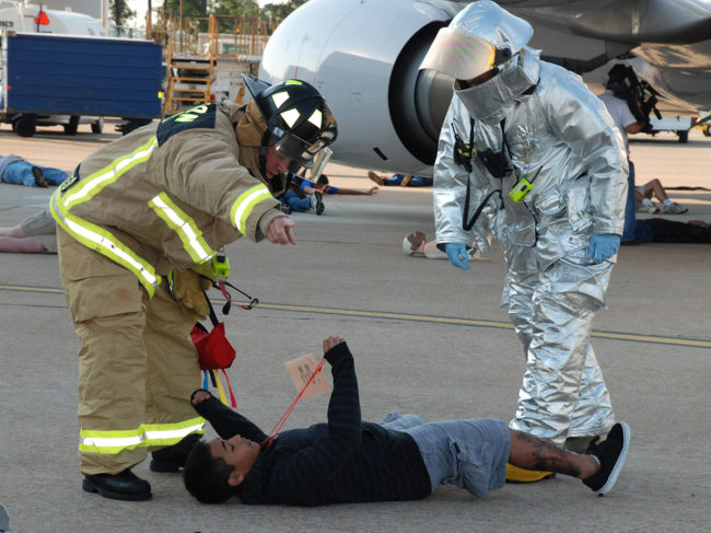 Houston Airport System completes most of its training with a hands-on approach.