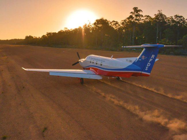 The RFDS fleet includes King Air B350Cs and B200Cs, as well as Pilatus PC12s.