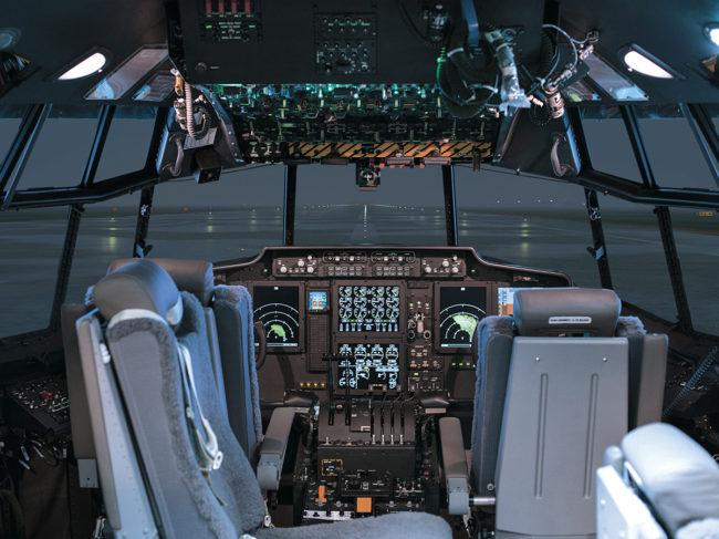 CAE's C-130 training center in Tampa, Florida.