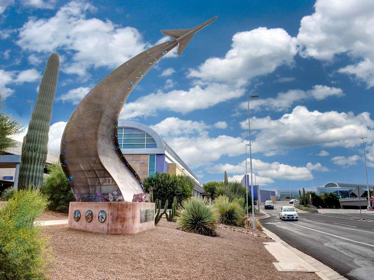 Solar Sculpture at Tucson International Airport