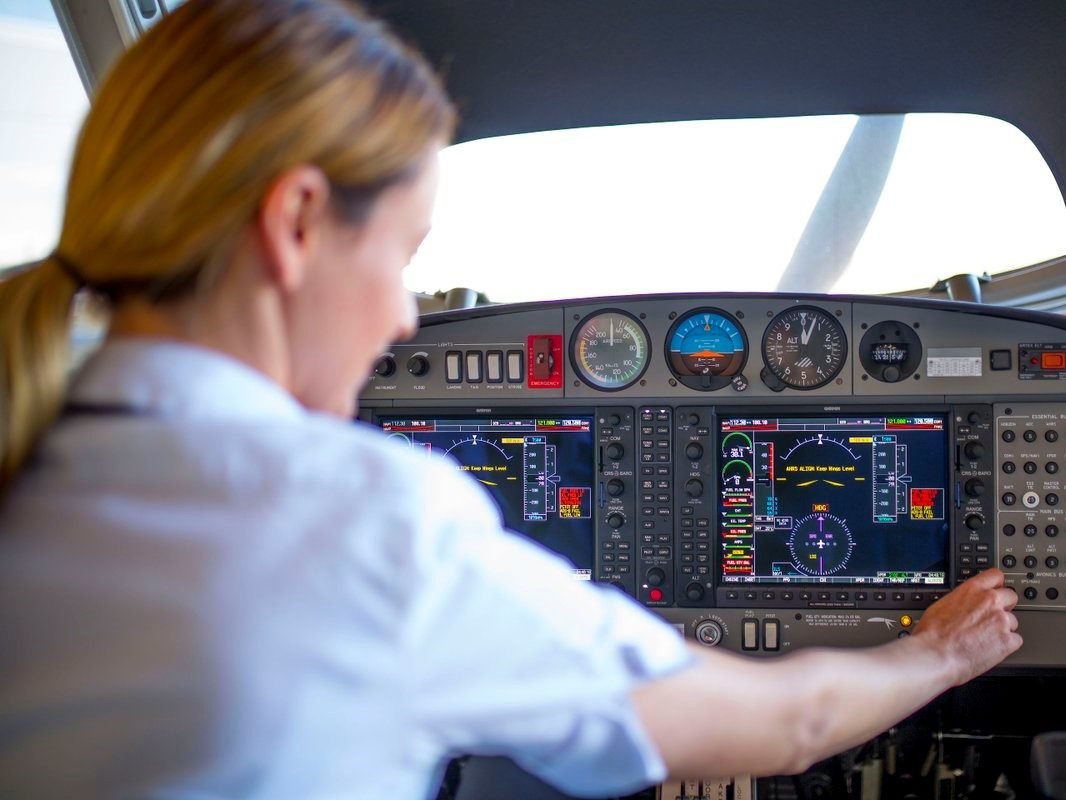 There are many different reasons for people to choose what they do for a living, maybe even more so for pilots.