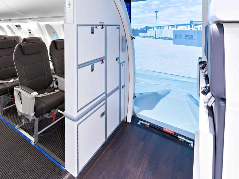 Lufthansa Aviation Training has launched a number of new training devices recently including a C Series (now Airbus A220) CEET in Zurich.