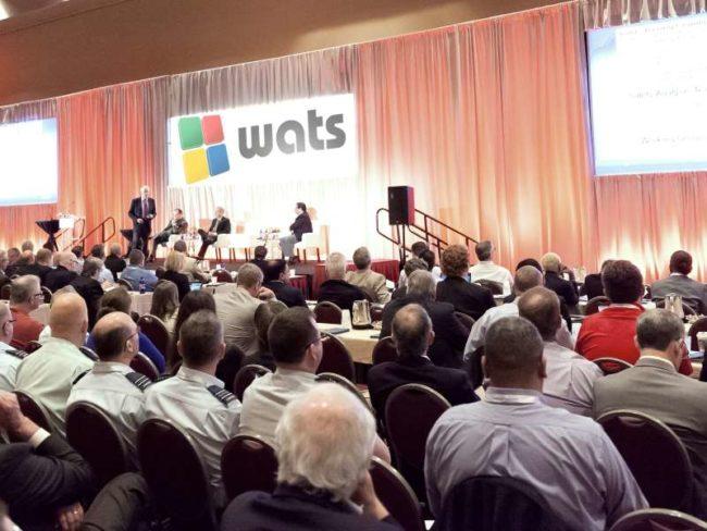 Honorable Earl F. Weener, NTSB board member during his keynote address.