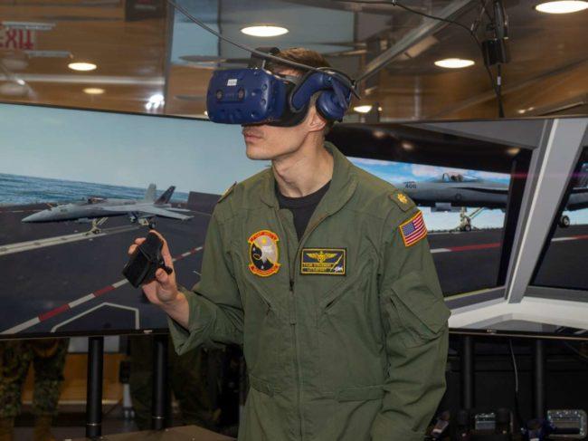 TSIS Day 2 navy training