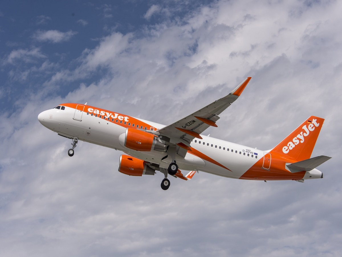 A320 easyjet new livery 2015