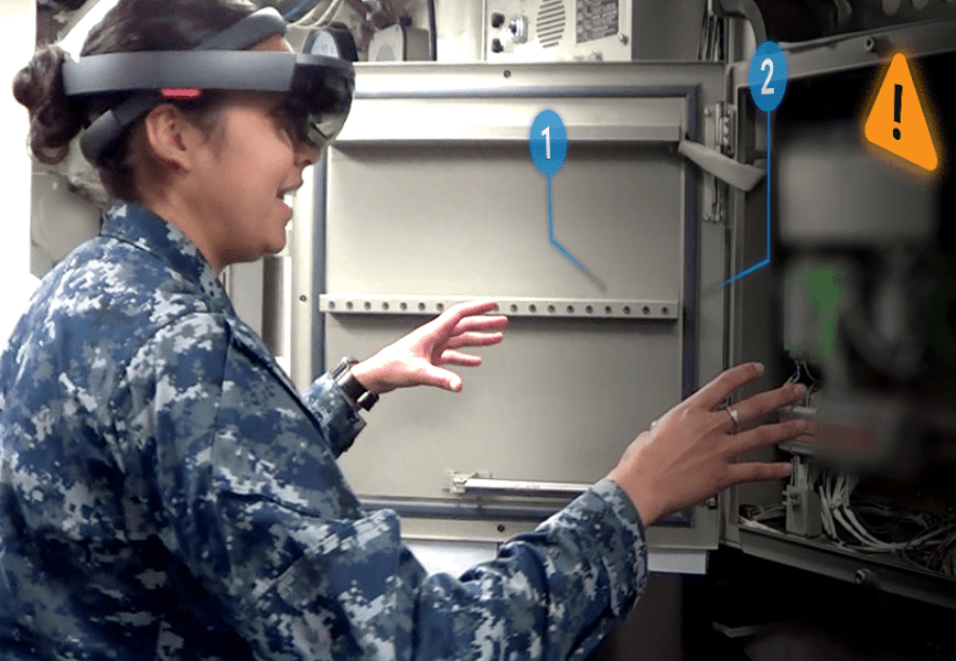 Design interactive partners with uss ford for ar training solution 1024x574