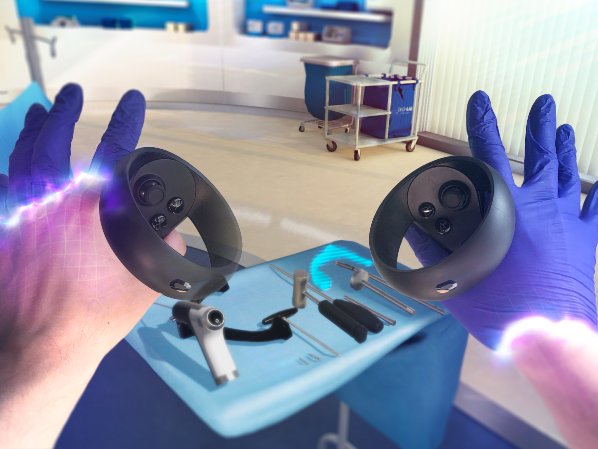 Osso VR surgical training platform
