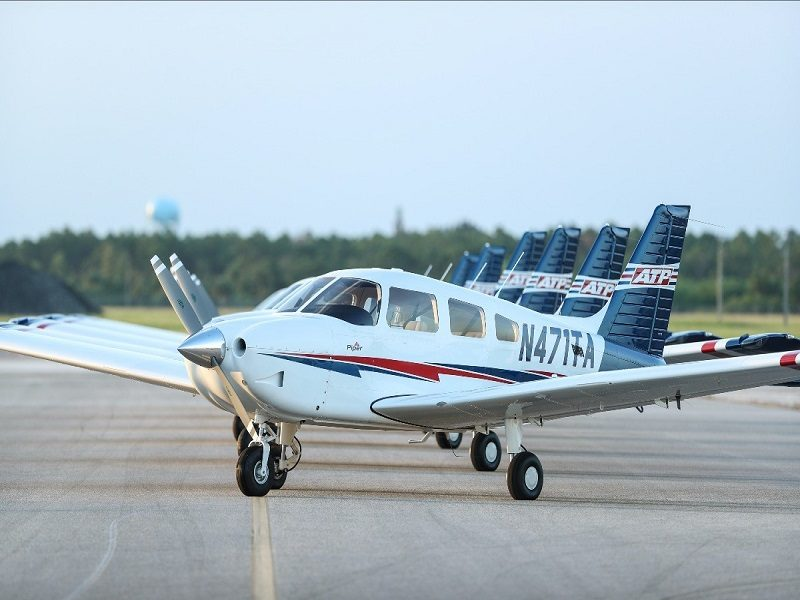 ATP Flight School Takes Delivery of Six New Piper