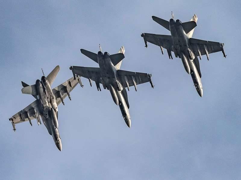 Canadian AF Hornets