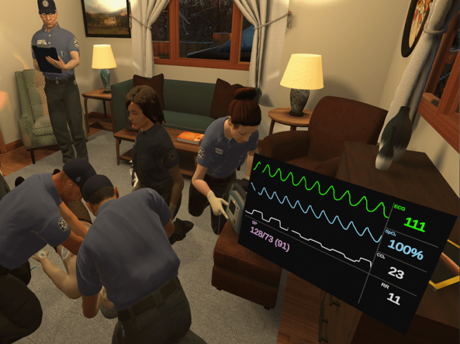 Health Scholars and CareerCert Team Up for Virtual Reality Training