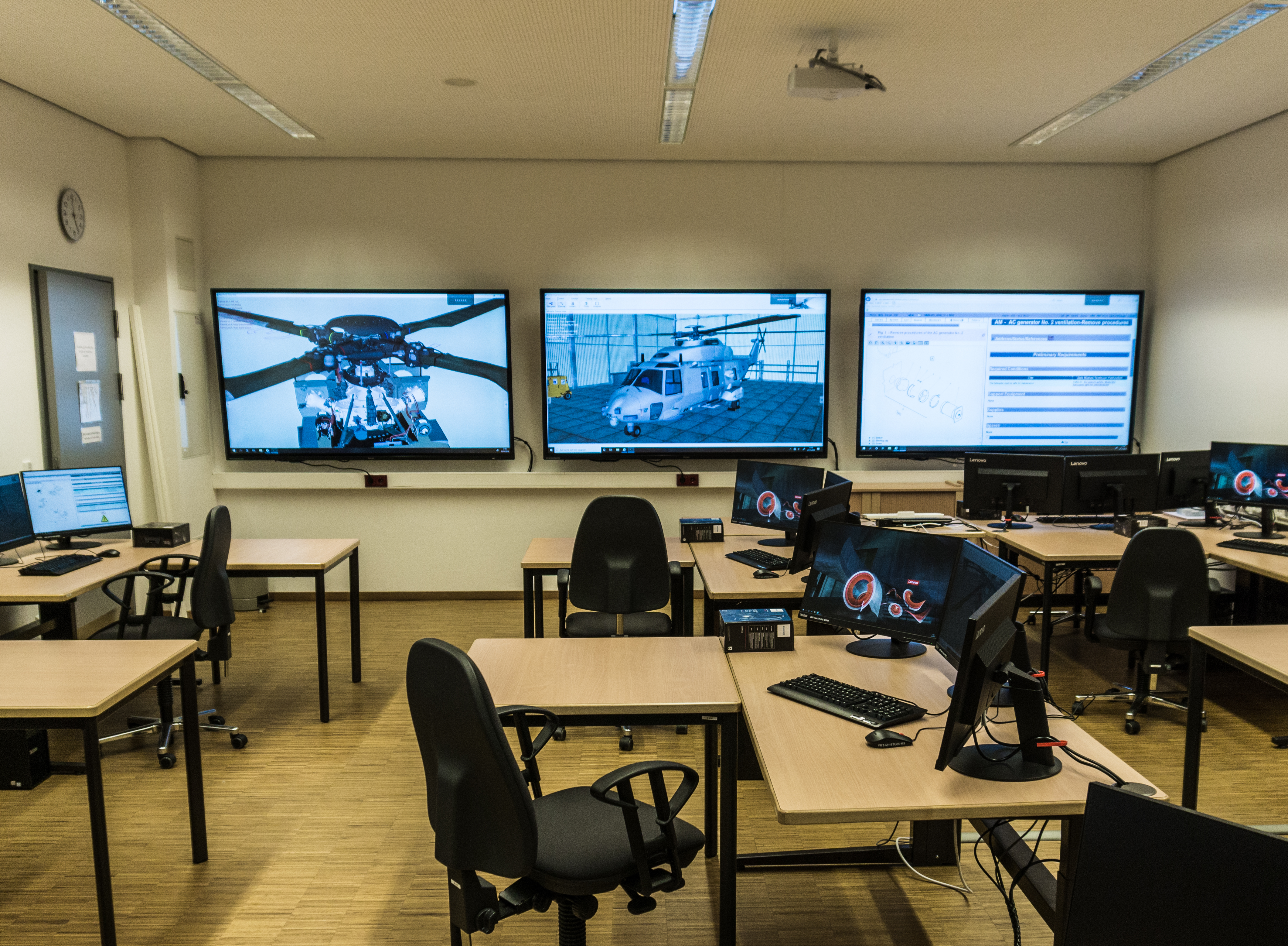 Nh90 classroom picture