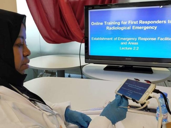IAEA First Responders training