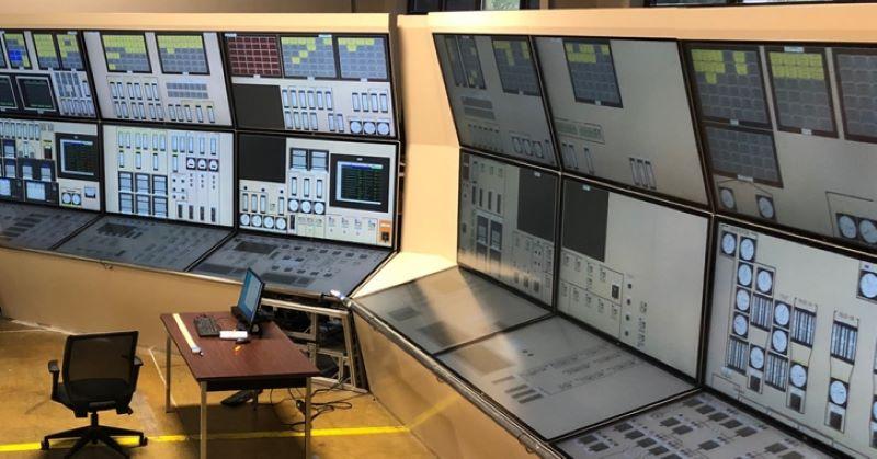 Glass panel simulator npp