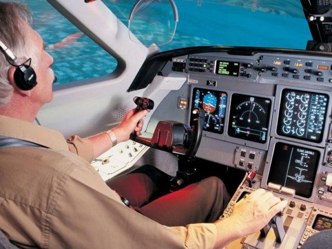 CAE Cockpit Gulfstream